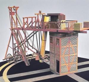 Rekonstruktion des 27-füßigen Teleskops