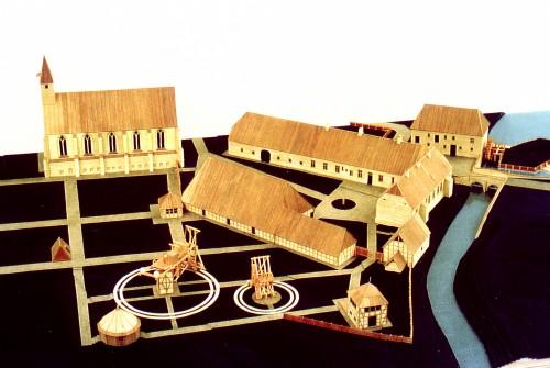 Amtshof im Jahr 1800