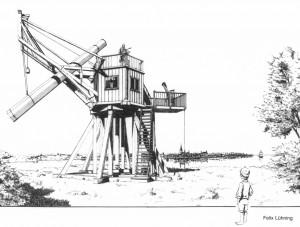 26-füssiger Reflektor von Schrader (1794)