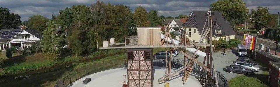 Blick aus der Luft - TELESCOPIUM-Lilienthal